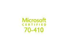 Exam 70-410: Installing and Configuring Windows Server 2012 image