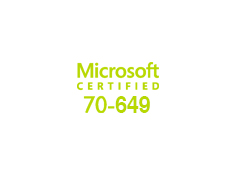 Exam 70-649: Updating Your Windows Server 2003 Technology Skills to Windows Server 2008 image