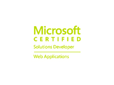 MCSD: Web Applications Certification image