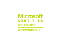 MCSE Server Infrastructure 2012 Certification image