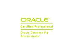 OCP Oracle Certified Professional 11g Database image